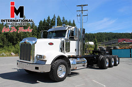 used Peterbilt heavy haul trucks for sale in Blaine Washington